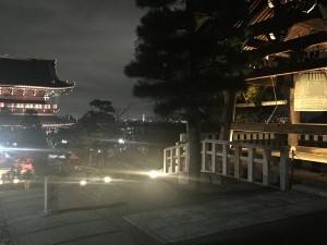 京都の金戒光明寺を四条烏丸の古都で着物レンタルして夜間拝観!4