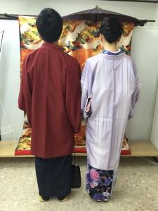 11月26日の着物レンタルのお客様 京都レンタルきもの古都5