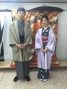 11月26日の着物レンタルのお客様 京都レンタルきもの古都6