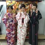 11月29日の着物レンタルのお客様 京都レンタルきもの古都3