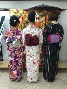 11月29日の着物レンタルのお客様 京都レンタルきもの古都4