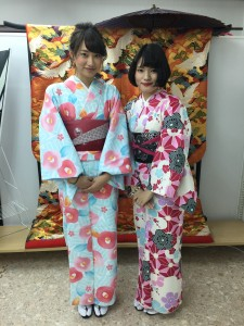 11月29日の着物レンタルのお客様 京都レンタルきもの古都5