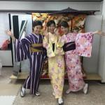 11月29日の着物レンタルのお客様 京都レンタルきもの古都9