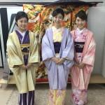 11月29日の着物レンタルのお客様 京都レンタルきもの古都11