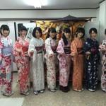 12月1日の着物レンタルで京都観光の皆様をご紹介♫1