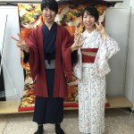 12月5日 古都の着物レンタルで京都観光されたお客様2