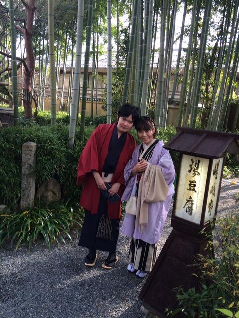 京都レンタルきもの古都でカップル着物レンタル!12月15日6