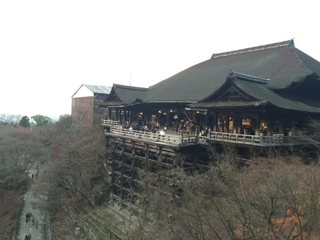 着物レンタルで「今年の漢字」「安」を見に京都 清水寺へ4
