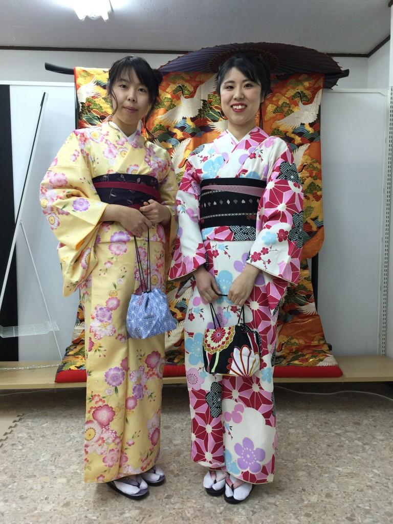 12月27日 京都四条烏丸の古都で着物レンタルされたお客様1