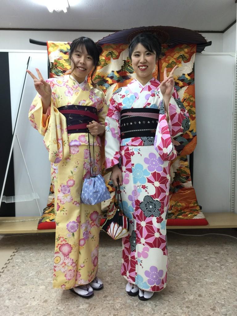 12月27日 京都四条烏丸の古都で着物レンタルされたお客様2