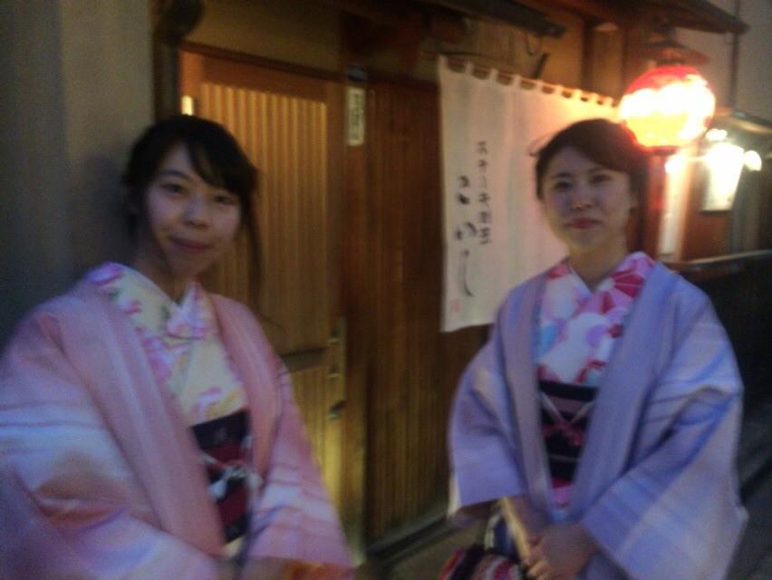12月27日 京都四条烏丸の古都で着物レンタルされたお客様6