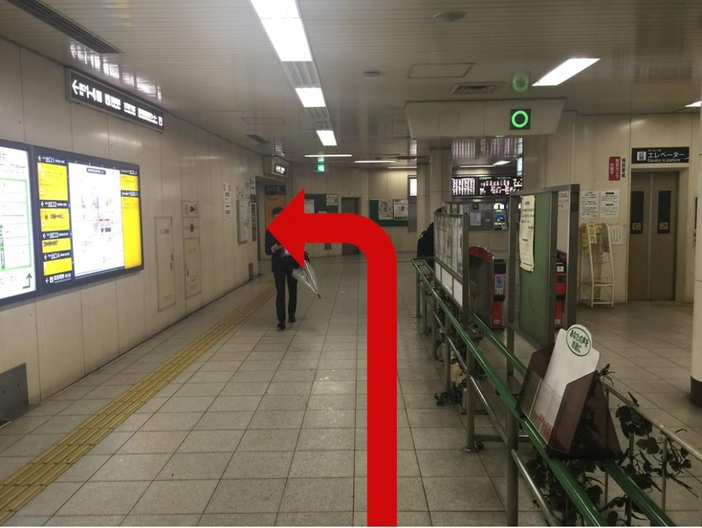 烏丸駅から(1)