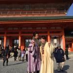 京都四条烏丸の古都で着物レンタル!お正月2日目のお客様26