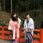 京都四条烏丸の古都で着物レンタル!お正月2日目のお客様28