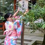 京都四条烏丸の古都で着物レンタルされたお客様6