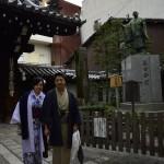 着物レンタルで京都仏光寺や錦市場へ!5