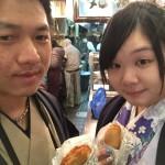 着物レンタルで京都仏光寺や錦市場へ!3
