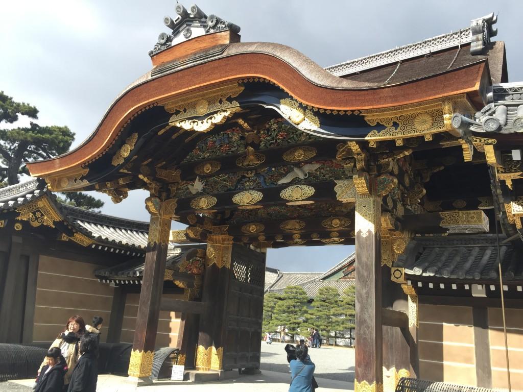 京都の梅スポット「元離宮二条城」四条烏丸からバスで10分1