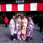 関東から京都観光!着物レンタルのお客様5