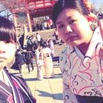 京都清水寺を満喫!着物レンタルのお客様5