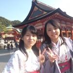 着物レンタルでもうすぐ春の京都を満喫!11