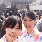 着物レンタルでもうすぐ春の京都を満喫!13