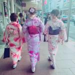 インドネシアからの団体様!春の京都を着物レンタルで満喫♪2016年3月28日19