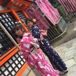 もうすぐ春休み終了!その前に京都で着物レンタル♪2016年3月29日23