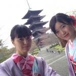インドネシアからの団体様!春の京都を着物レンタルで満喫♪2016年3月28日31