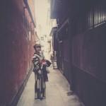 着物レンタルで桜もう少しで満開の京都を散策♪3