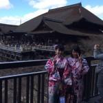 着物レンタルで舞妓さんと記念撮影!2016年3月11日5