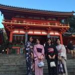 着物レンタル団体割引と京都東山花灯路2016年3月12日9