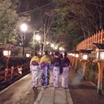 着物レンタルで雨の京都も風情があって良いものです!2016年3月14日9