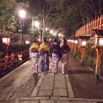 着物レンタルで雨の京都も風情があって良いものです!2016年3月14日11