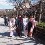 春休み!着物レンタルで京都を満喫♪2016年3月15日17