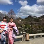 春休み!着物レンタルで京都を満喫♪2016年3月15日21