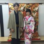 カップルと卒業旅行で京都の着物レンタル2016年3月17日4