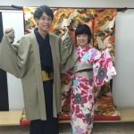 カップルと卒業旅行で京都の着物レンタル2016年3月17日5