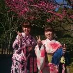 カップルと卒業旅行で京都の着物レンタル2016年3月17日9