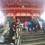 夜行バスで春の京都に来ました♪2016年3月18日5