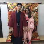 大盛況!着物レンタル三連休最終日!知恩院で桜が!2016年3月21日5