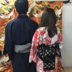 大盛況!着物レンタル三連休最終日!知恩院で桜が!2016年3月21日15