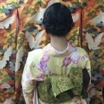 大盛況!着物レンタル三連休最終日!知恩院で桜が!2016年3月21日7
