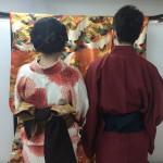 大盛況!着物レンタル三連休最終日!知恩院で桜が!2016年3月21日11