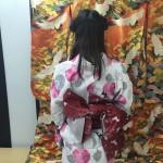 大盛況!着物レンタル三連休最終日!知恩院で桜が!2016年3月21日16