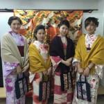 インドネシアからの団体様!春の京都を着物レンタルで満喫♪2016年3月28日10