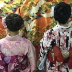各地で桜の開花宣言!京都レンタルきもの古都2016年3月31日9