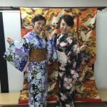 各地で桜の開花宣言!京都レンタルきもの古都2016年3月31日12