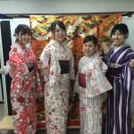 各地で桜の開花宣言!京都レンタルきもの古都2016年3月31日16