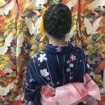 各地で桜の開花宣言!京都レンタルきもの古都2016年3月31日24